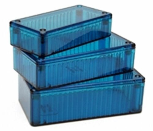 Hammond Blue Box Translucent Enclosure 120x65x40mm Project Plastic 152