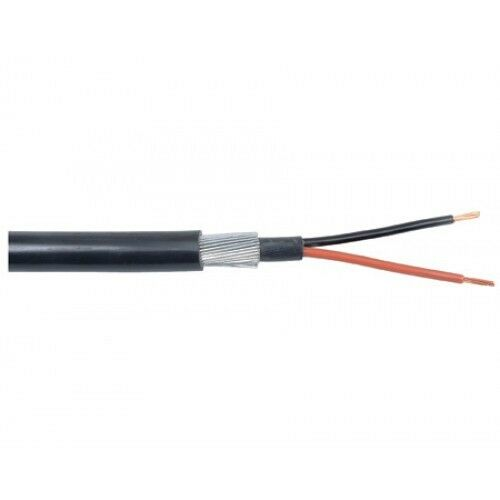 2.5mm SWA 6942X 2 CORE STEEL WIRE ARMOURED CABLE PER 10m 25m 50m 100m
