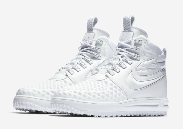 $190 NIB NEW Men's Nike AF1 LF1 Lunar Force 1 Duckboot AA1123 100 Shoes White