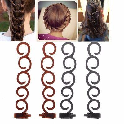 Fashion Cheveux Styling Clip Stick Bun Maker Braid Outil Cheveux Accessoires