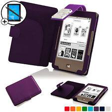 Viola Smart Cover Con Custodia In Pelle con luce LED Luce per Tolino Pagine