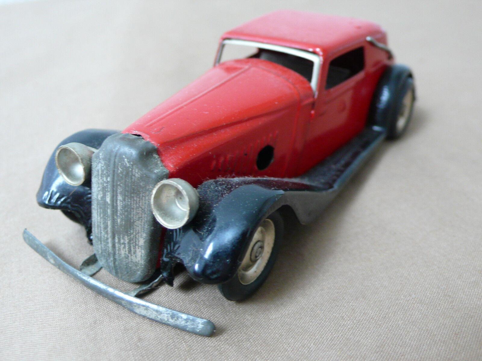 Triang Minic Toys Opel rosso Cabrio 19 M 1940s Casi Nuevo