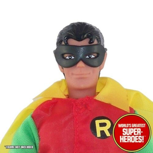 """Mego Robin Rubber Mask Reproduction For 8"""" Action Figure WGSH Custom Parts Lot"""