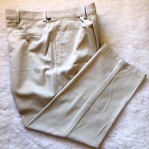 Dockers Para Hombre 44x30 Bronceado Pantalones Tipo Chino De Algodon 100 Ebay