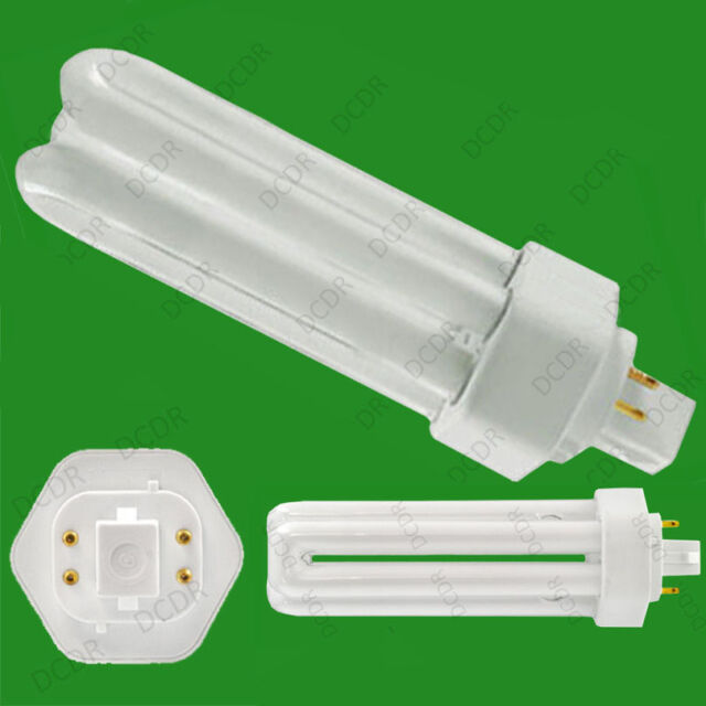 26W Low Energy GX24Q-3 4 pin 4000K Lamp Cool White CFL 840 Light Bulb 1800lm PLL