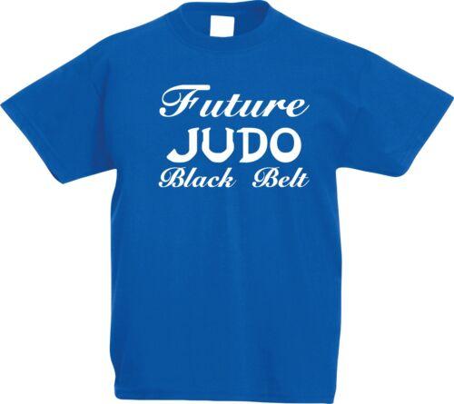 KIDS Judo Future Black Belt Martial Arts T-Shirt