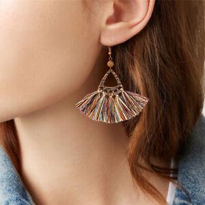 Vintage-Women-Bohemian-Long-Tassel-Earrings-Boho-Hook-Drop-Dangle-Fringe-Jewelry