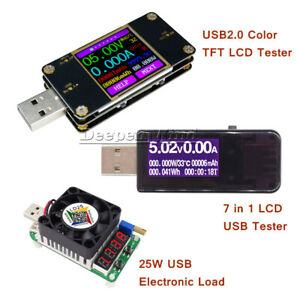 UT21-Color-LCD-USB-Tester-UT21B-Bluetooth-Current-Voltage-Power-Meter-Voltmeter