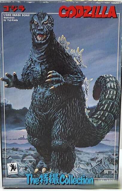 Bandai 1 350 Godzilla con Mothra Larva Jan sin los Efectos Especiales Japón
