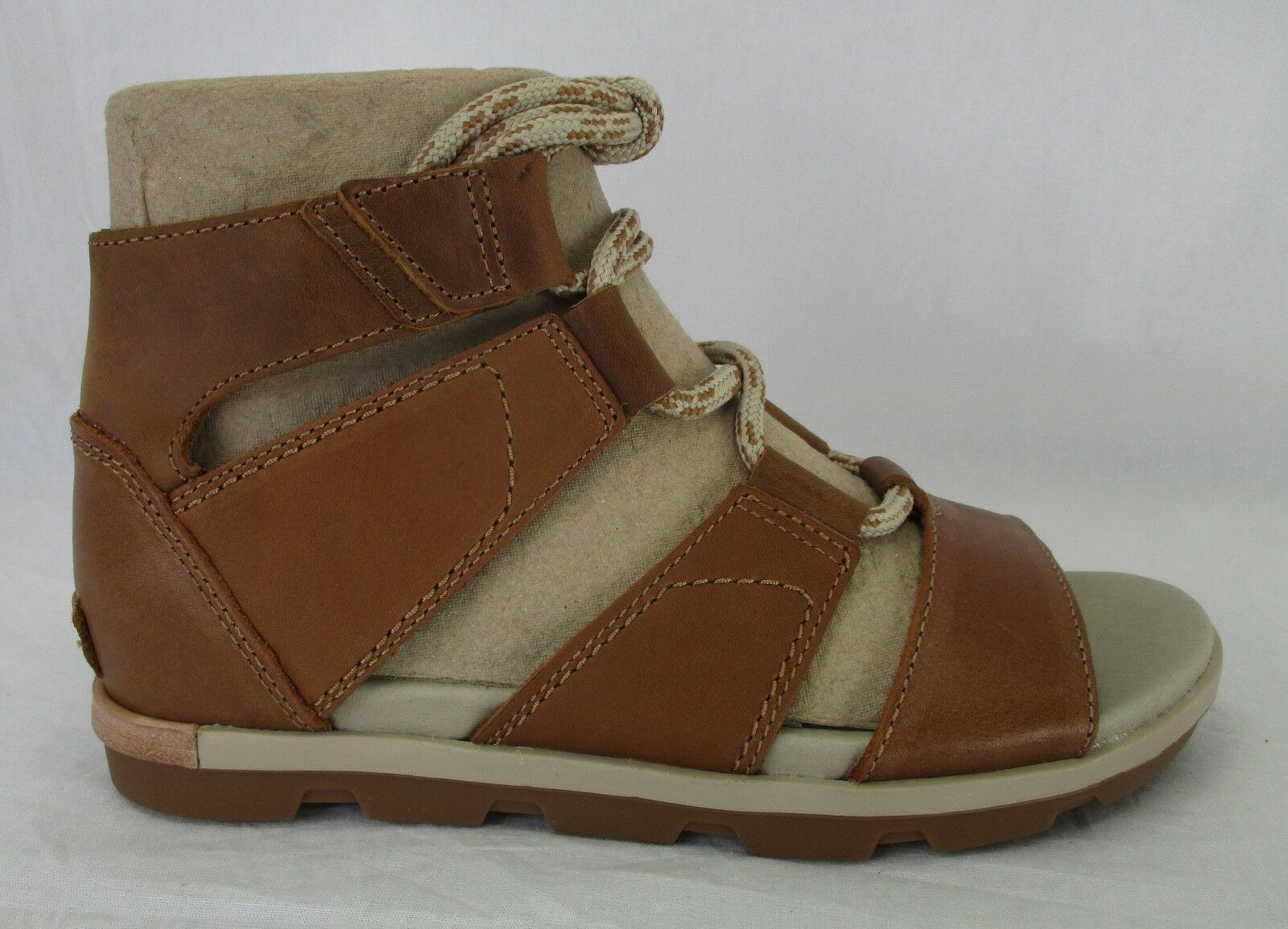 Sorel Donna Torpeda Lace II Sandals 9.5 1727321 Camel Brown Size 9.5 Sandals d8efd7