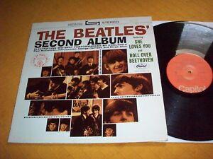 The Beatles,Second Album,1976 Capitol Press.VG+ Cond.   eBay