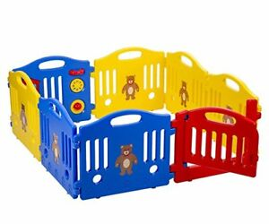New Baby Safety Fun Playpen Kids 8 Panel Play Center Yard Activity Center 358 627837488834