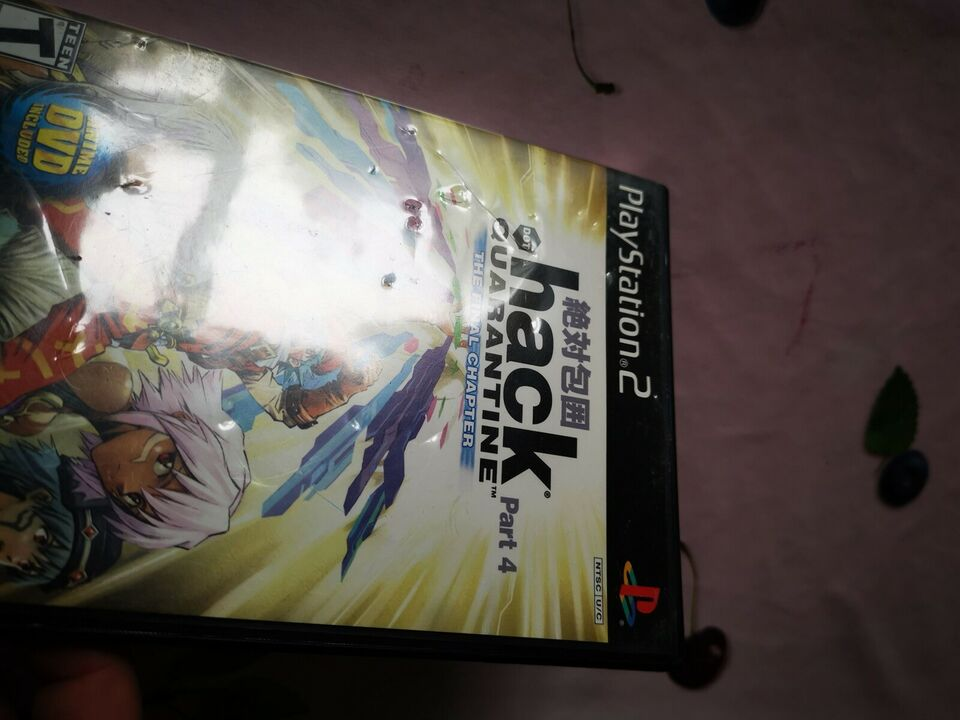 Dot Hack Quarantine Part 4 The Final Chapter NTSC, PS2