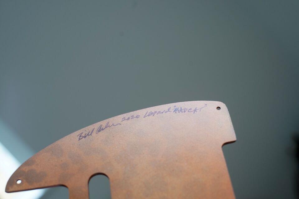 Slagplade, Asher Guitars Telecaster Pickguard, Leopard