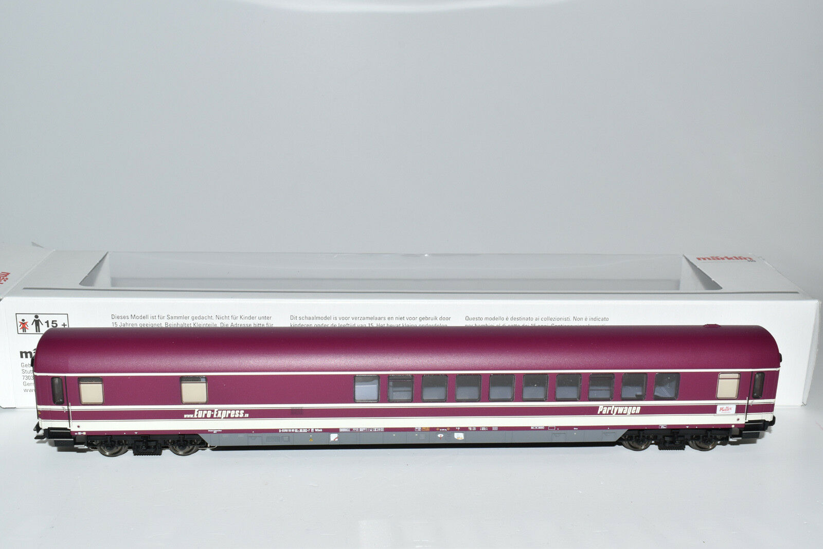 Märklin 43948 società carrello con MFX SOUND, Euro Express EP. vi NUOVO & OVP MHI