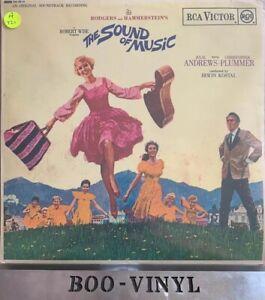 The-Sound-of-Music-Original-Soundtrack-12-034-Vinyl-LP-RCA-Victor-RB-6616-Ex-Con