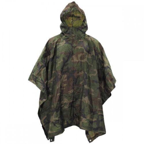 Regenbekleidung Original Angolanischer Poncho woodland Nässeschutz Jacke Regenschutz neuw. Bekleidung