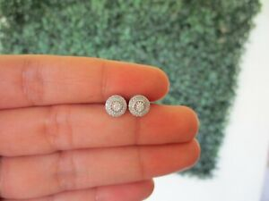SALE‼️.112 CTW Diamond Earrings 14k White Gold JS129WG-E sep