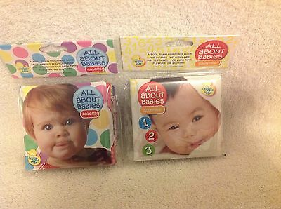 NEW Bubble Book Scrub-Bubble Bath Books Bath Time Fun Educational Infant