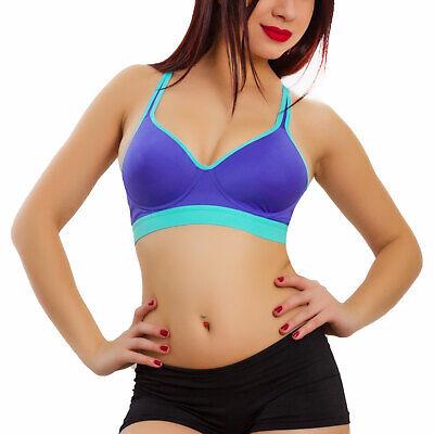 Reggiseno donna top sport fitness palestra running vogatore TOOCOOL BE-159
