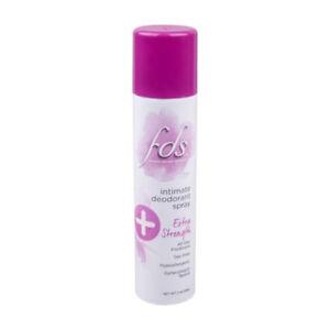 Fds Feminine Deodorant Spray Extra Strength 2 Oz Pack Of