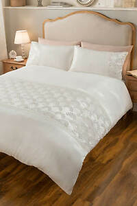 Zara Sequin Duvet Set Bedding Home Bed Bedroom Cover Pillow Case Luxurious Ebay