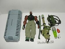 GI Joe Sigma Six Heavy Duty Action Figure Hasbro 2005 With Accessories Case 6 8""