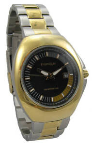 NEW-FREESTYLE-Women-039-s-Wrist-Watch-Two-Tone-Gold-and-Silver-Model-35109-Luminous