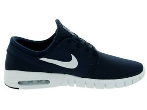 5693771ba689 Image is loading Nike-STEFAN-JANOSKI-MAX-Obsidian-White -Athletic-Discounted1-