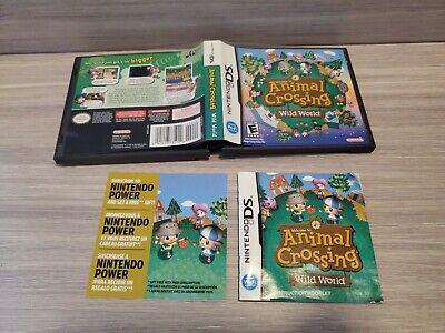 Animal Crossing: Wild World (Nintendo DS) Case Artwork and ...