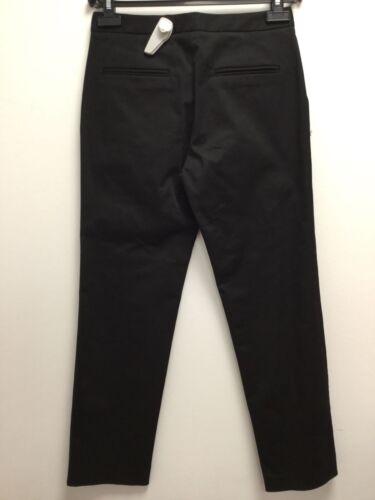 BIMBA y Lola donna pantaloni chino trousers nero elegante strettamente Skinny Business Nuovo