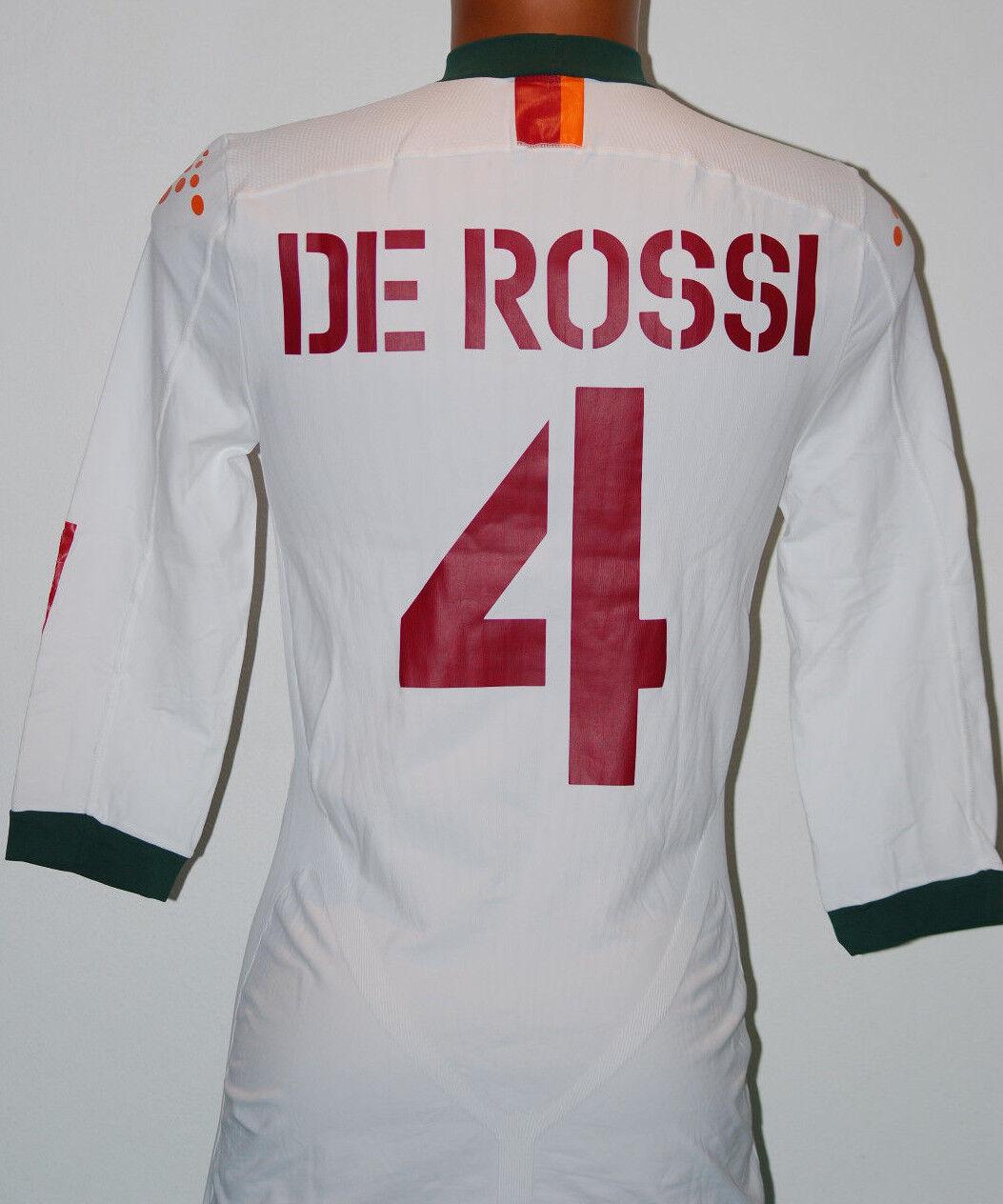 MAGLIA ROMA DE ROSSI CHAMPIONS 2004 2005 DIADORA XXL PLAYER ISSUED no match WORN