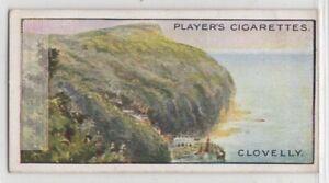 Clovelly-Devon-Bristol-Channel-England-100-Y-O-Trade-Ad-Card