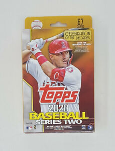 2020-Topps-Series-2-Baseball-EXCLUSIVE-HUGE-Factory-Sealed-67-Card-HANGER-Box
