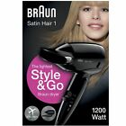 Braun style&go Satin Secador 1 de mujer VIAJE MINI Calor Protección GB HD130