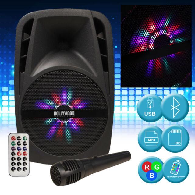 Estéreo Refuerzo de Sonido Equipo de Música 300W Bluetooth USB Micrófono Sd Mp3