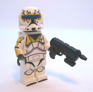 Lego Star Wars Minifigures-Clone Custom Troopers-Commando Gregor