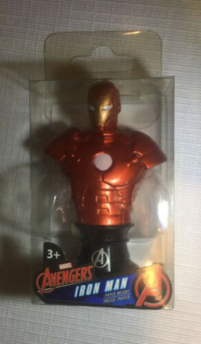 Marvel Avengers Iron Man,Hulk,Spider-Man Paper Weight Pick Your Character.