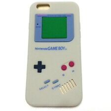 For iPhone 6 / 6S - SOFT SILICONE RUBBER SKIN CASE COVER GRAY GAMEBOY PLAYER