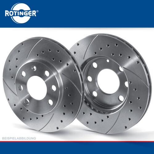 Rotinger GRAPHITE Sport-Dischi Freno Set Anteriore VA-FORD MAVERICK