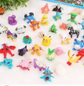 144 teilig Monster Mini Anime Pfeifhasen PVC Modelle Sammlung Action Figur norepeat
