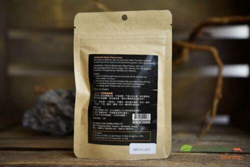 Alimento camarón Aqualex Carne Sabor Cereza Cristal De Abeja Tigre
