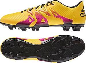 Adidas X 15.3 FG  AG Nocken Herren Fußballschuhe S74632 Gold Größe ... Sehr gute Farbe
