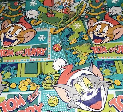 Flintstones Hanna Barbera Christmas Gift Wrapping Paper Folded 20 Sq Ft
