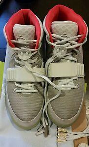 Nike Air West Yeezy 2 Nrg Kanye West Air Lobo Gris Platino Puro Plats 508214 711357