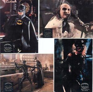 LOT-of-18-1992-STADIUM-CLUB-BATMAN-RETURNS-w-INSERTS