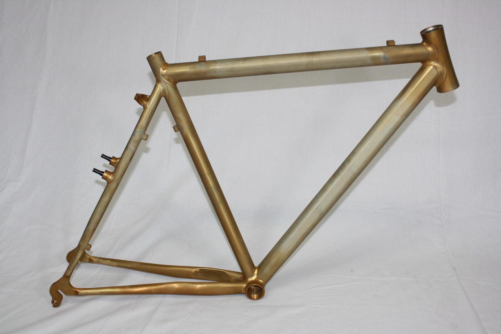 Eddy Merckx QUADRO CROSS 5 gregge, Rahmen frame, HUSKY, ALU Raw, rh58cm