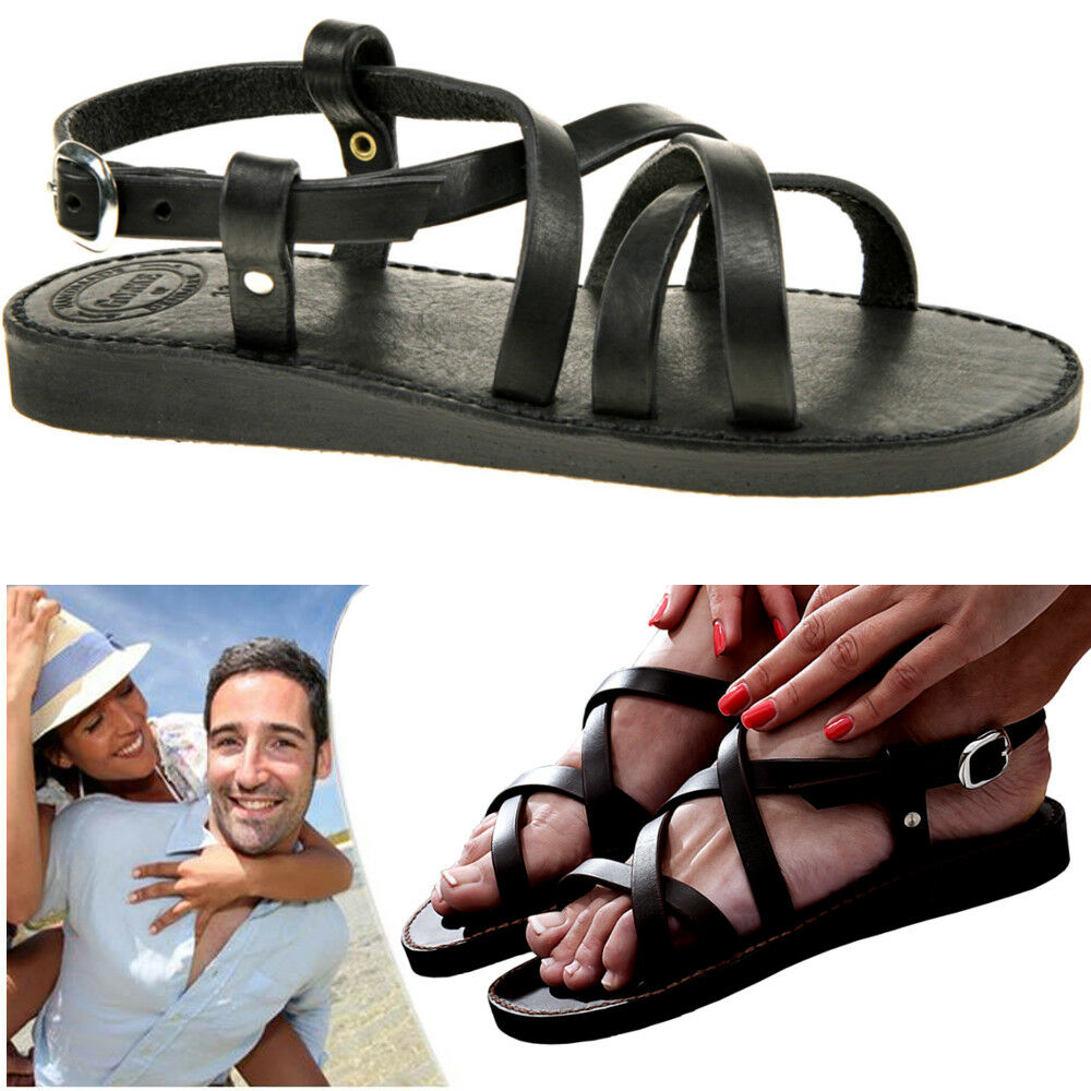 QUALITY SANDALS HANDMADE Danish Real Leather Sandalen Sandales EU35-45 UNISEX