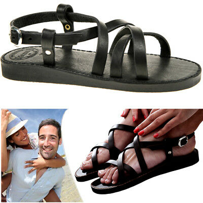 Ordentlich Quality Sandals Handmade Danish Real Leather Sandalen Sandales Eu35-45 Unisex Sparen Sie 50-70%