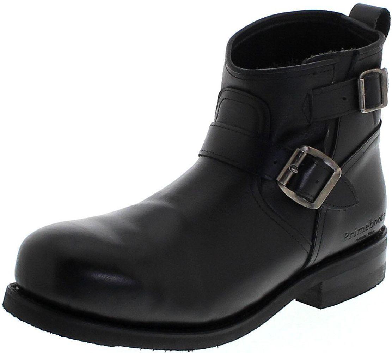 Prime botas 43479 low engineer negro engineer botas para señora & caballero negro